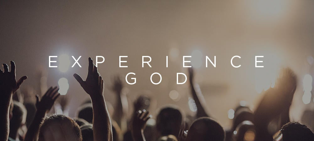 3b Experience God